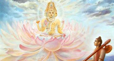 Brahma and Narada Muni