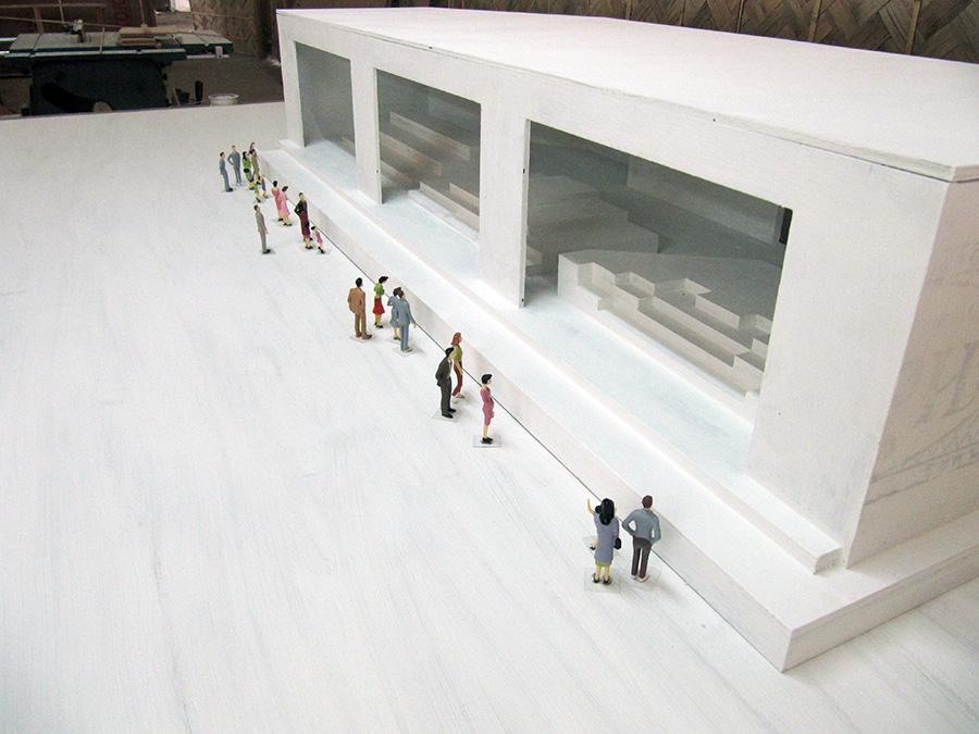 Model of Main Altar