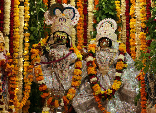 Jayadeva Goswami's Radha-Madhava