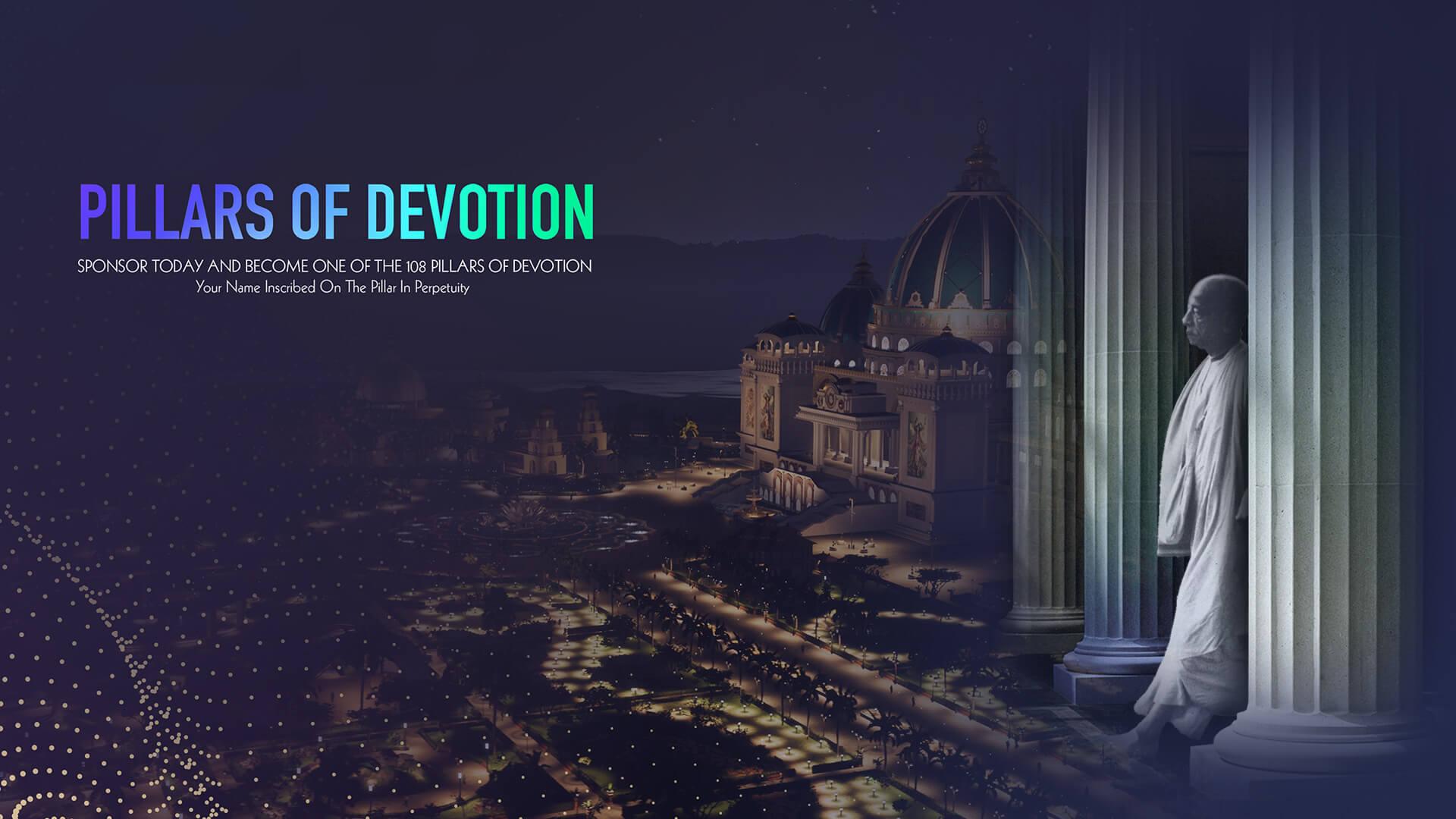 Pillars of Devotion Donation Campaign slide image