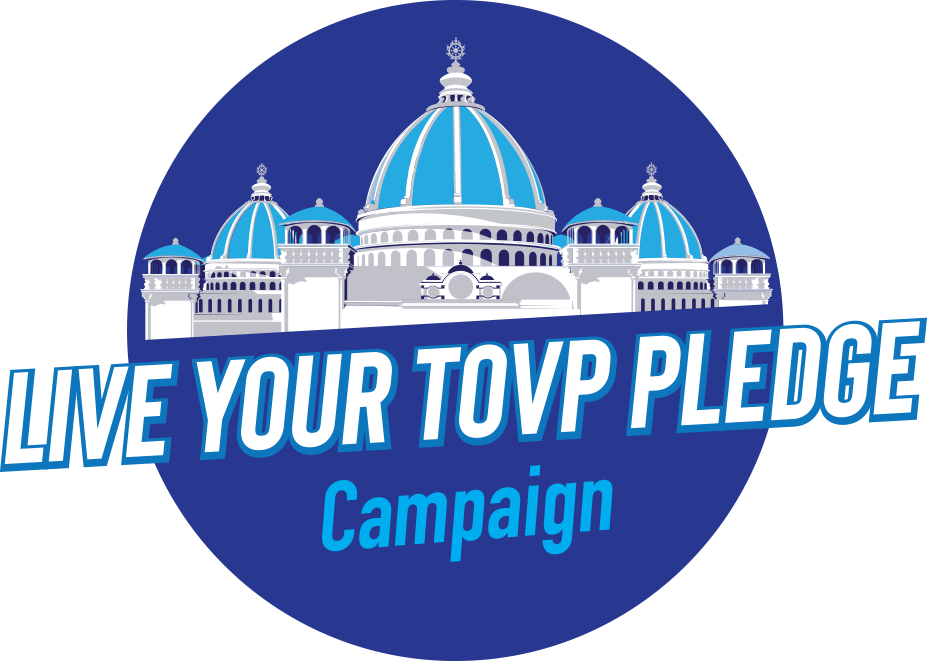 Live Your TOVP Pledge Campaign logo